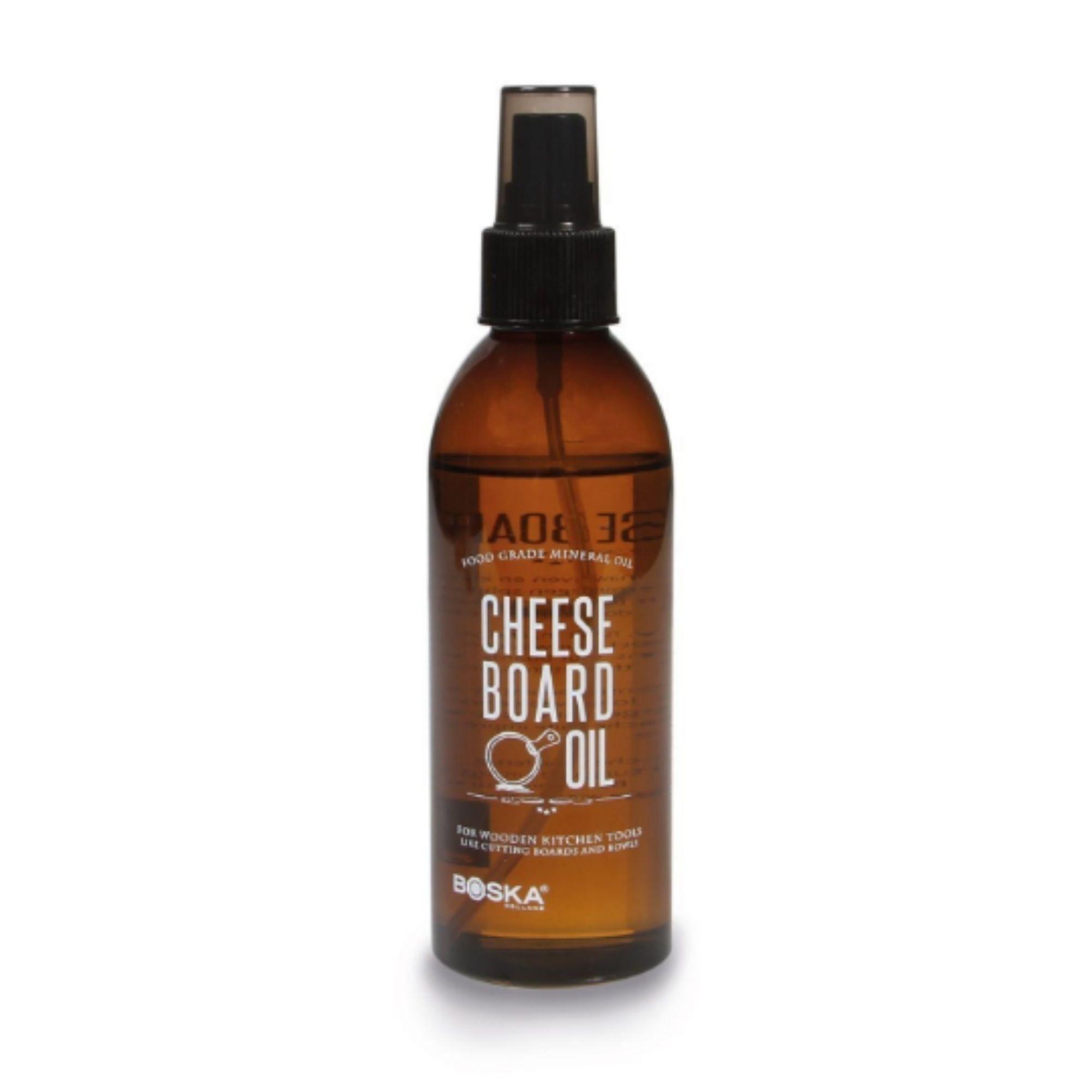 Pflegeöl für Holzbretter und Schieferbretter - in praktischer Sprühflasche - geschmacks- und geruchsneutral