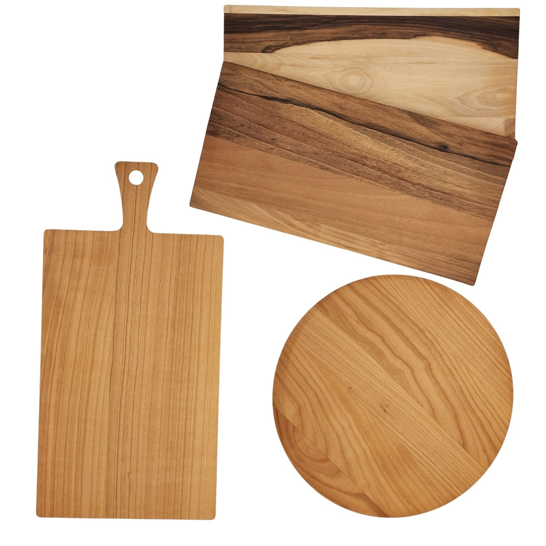 Besondere Bretter - Gestalte Dein eigenes Holzbrett